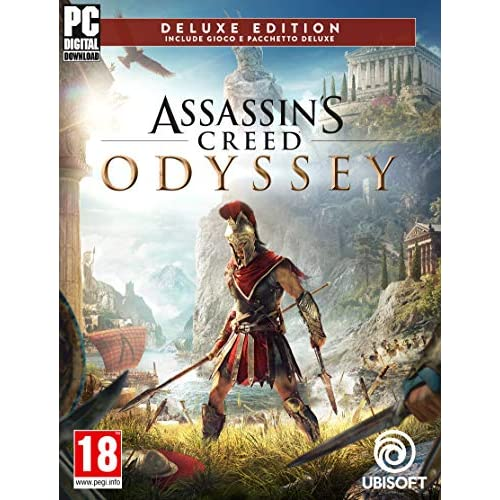 Assassin's Creed Odyssey - Deluxe Edition | Codice Ubisoft Connect per PC