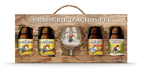 La Chouffe 4x33cl 8% alc.vol. Plus 1 Sammler-Glas