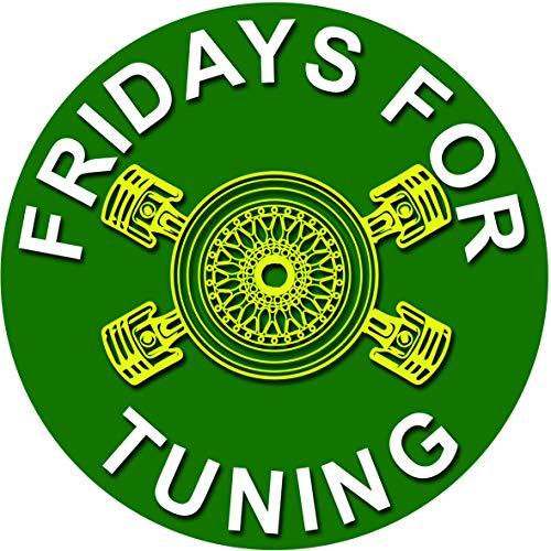 Fridays for Tuning Auto Aufkleber - Fuck You Greta Aufkleber - es reicht Dirty Diesel Sticker Autoaufkleber Felgen Tuining Sticker Autotuning CO 2 Skandal