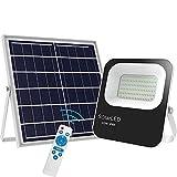 100W Solar Flood Lights Outdoor Led Remote Solar Lights Dusk to Dawn 120 LEDs IP65...
