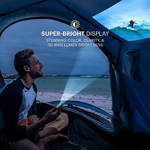 Kodak Ultra Mini Portable Projector - HD 1080p LED DLP Rechargeable Pico Projector - 100