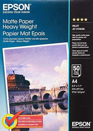 Epson Matte Paper Heavy Weight - Papel