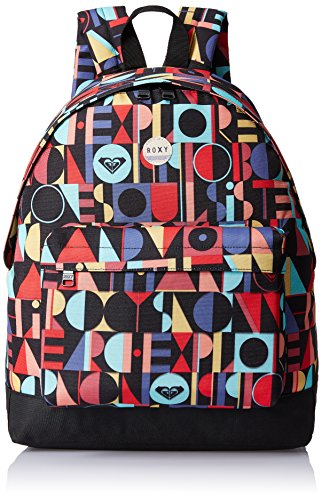 Roxy Be Young - Mochila con estampado integral para mujer, multicolor, talla única