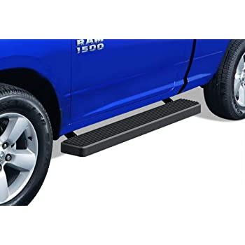 APS Off-Road 6.5in Side Armor Aluminum Running Boards Custom Fit 2009-2018 Dodge Ram 1500 Regular Cab Pickup 2-Door /& 2010-2020 Ram 2500 3500 Nerf Bars Side Steps Side Bars