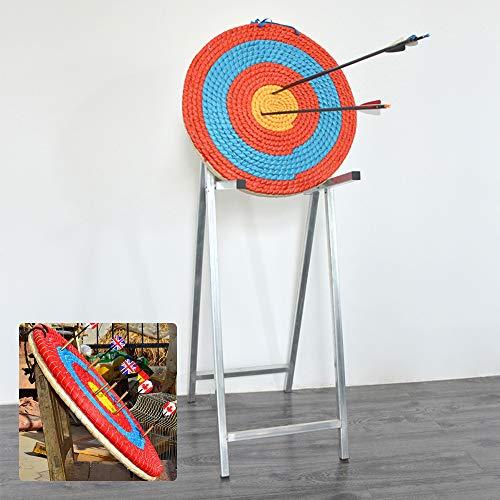 YORKING 55 * 2cm Pfeile Zielscheibe Dartscheibe Bogenschiessen Stroh Ziel Bogensport für Recurve Bogen