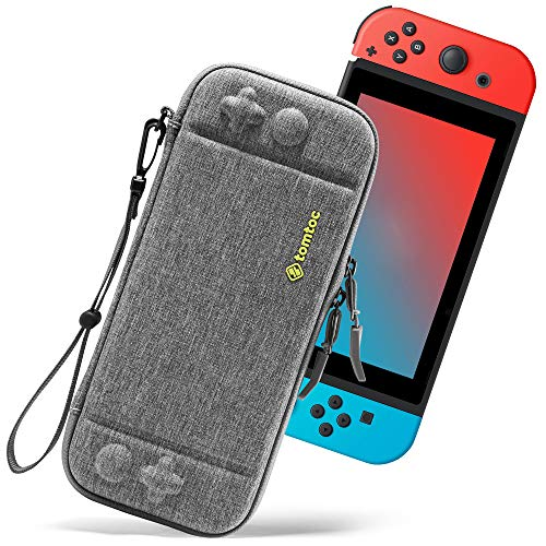 tomtoc Carrying Case for Nintendo Switch, Ultra Slim Hard Shell Travel Protective Cases with...