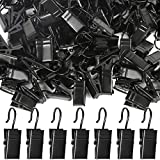 Teenitor 100 Pack Curtain Clips Stainless Steel Light Hanger Hooks Christmas Party Decor Supplies for Camp Tent Photo Display Indoor and Outdoor Decoration