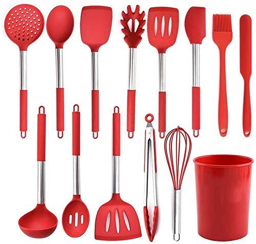 Conjunto de utensilios de cocina Utensilios de cocina de silicona 13 piezas Conjunto de herramientas de cocina Shovel Shovel Juego de combinación
