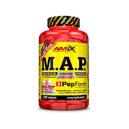 Amix Pro AMIX0220 M.A.P. Muscle Amino, 150 Compresse