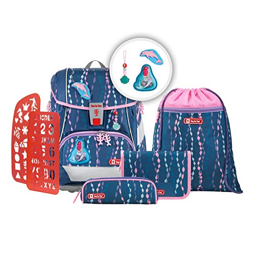 Step by Step 6-part Satchel Set 2in1 Plus Nylon 19 Litro 37,5 x 28 x 20 cm (H/B/T) Bambino Cartelle (SBS2in1Plus)