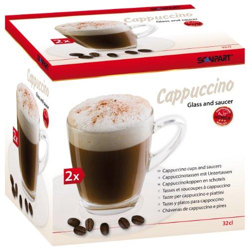 Scanpart 27.000.000.76 Cappuccino-Tassen 2-teilig