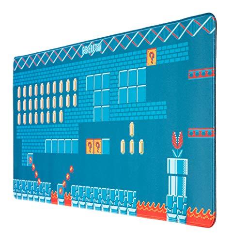 Alfombrilla ratón Gameration - Alfombrilla gaming - Mousepad XXL / Alfombrilla XXL - Alfombrilla escritorio - Tapete escritorio - Una alfombrilla ratón ideal como accesorio gamer