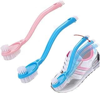 Vwinone シューズブラシ L長柄 シューズクリーナー 洗濯ブラシ 靴洗いブラシ汚れ落とし 洗濯用品 ブラシ (2セット)