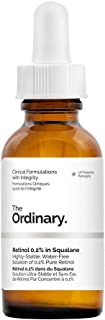The Ordinary Retinol 0.2% in Squalane - 30ml, reduce the appearances of fine lines, of photo damage and of general skin ageing