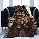 WSMXZDH The Bin-Ding of Isa-Ac Fleece Throws Blankets Ultra-Soft Weighted Luxury Blanket for Bed Living Room Home Chair Camping for Women Men