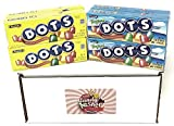Dots Candy Variety Pack, Original and Assorted Flavors 2.2oz (4 of each flavor, Total of 8)