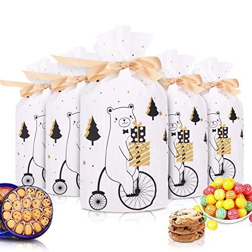 santa fortunata vidsel Cioccolato Fortunato Alce Bags 50 Pezzi Santa Coulisse Borse Presenti per Bambino