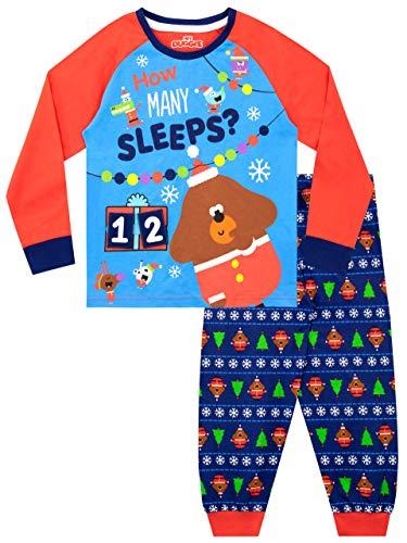 Hey Duggee Pijamas de Manga Larga para niños Navidad Christmas