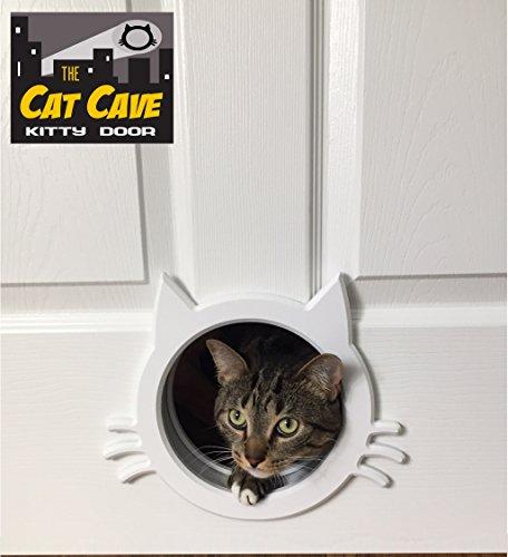 The Cat Cave Türschutzgitter für Katzen, Katzenhöhle