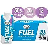 Organic Valley, Organic Fuel High Protein Milk Shake, 20G Protein, Vanilla, 11 Fl Oz (Pack of 12)