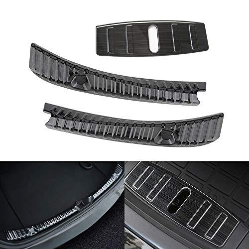 Kofferraum Stoßstangenschutz aus Edelstahl