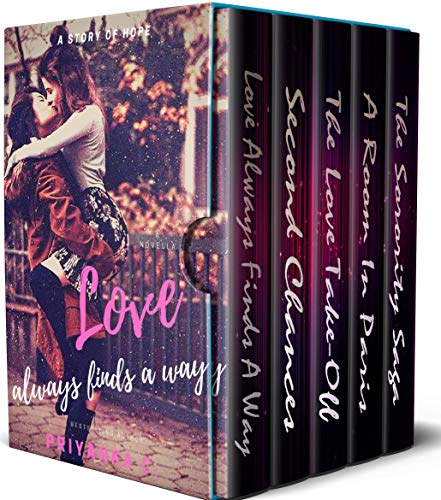 Love Always Finds A Way: A 5 Book Lesbian Romance Bundle (Themes Include Age Gap Romance, College Romance, Mystery, Happy Endings And Much More)
