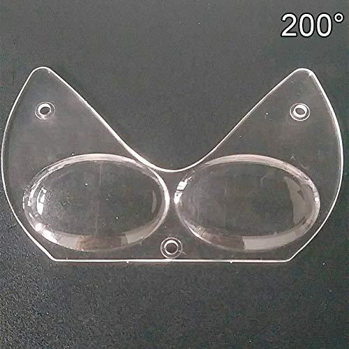 Percetey Replacement Myopia Lens, breitem Rahmen,freier Sicht, umweltfreundlichem flüssigem Silikonfutter, eine Vielzahl Gesichtstypen, klarere Sicht, für professionelle Tauchmasken-Schutzbrillen