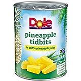 DOLE Pineapple Tidbits in 100% Pineapple Juice 20 oz. Can