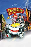 MCPosters - Who Framed Roger Rabbit Glossy Finish Movie Poster - MCP692 (24' x 36' (61cm x 91.5cm))