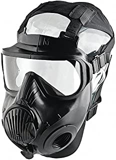 C50 Full Face Respirator, Respirator Connection Type: Threaded, 6 pt. with Mesh Headnet Full Face Su
