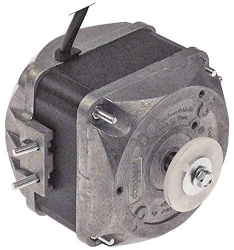 ebm-papst M4Q045-DA01-75 Lüftermotor für Mercatus 230V 18W 1300/1550U/min 50/60Hz 5 Befestigungsoptionen Breite 78mm Kabel 1,5m