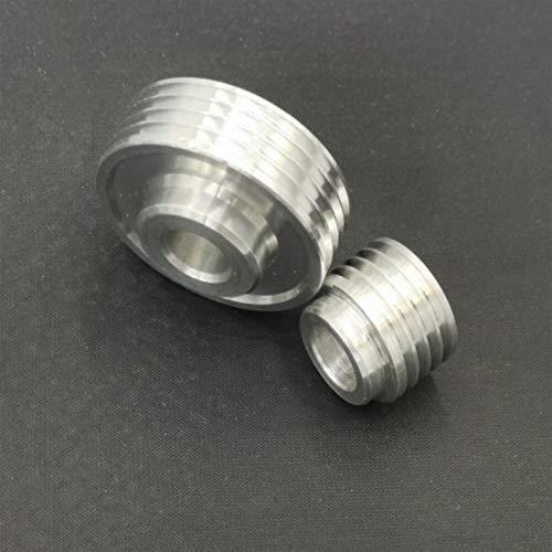 Jjzhb PYunLi-Polea de distribución, 2 PCS Reemplazo 1pair Pastro Cutter Head Pulley para 1900 Cepilladores Eléctricos, Transmisión Suave