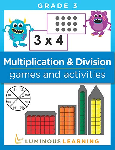 Compare Textbook Prices for Multiplication and Division Games and Activities - Grade 3: Math Activity Book  ISBN 9781939763242 by Learning, Luminous