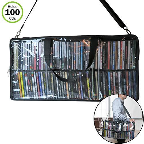Evelots CD-Aufbewahrungstasche für 100 CDs
