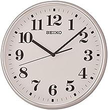 Seiko Plastic Wall Clock (35 cm x 35 cm x 4.5 cm, Dark Brown)