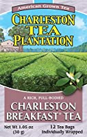 American Classic Pyramid Teabags Charleston Breakfast 12 Count [並行輸入品]