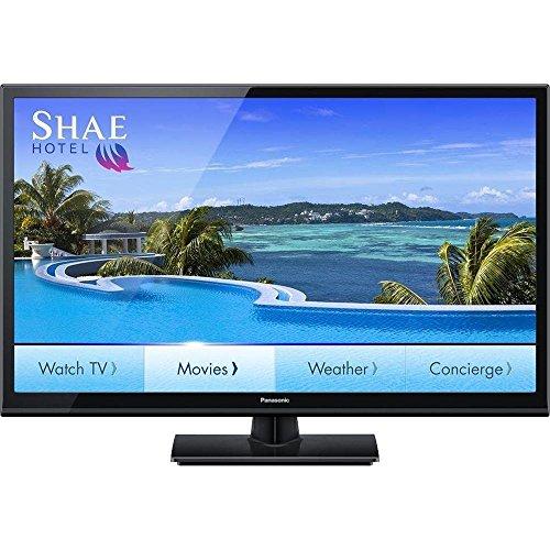 "Panasonic TH-39LRU6 39"" Class 1080p Hospitality LED HDTV, Glossy Black, Aspect Ratio 16:9, Resolution 1920 x 1080 Pixels, 300 cd/m2 Brightness, 178° Viewing Angle, Audio Output 10W + 10W"