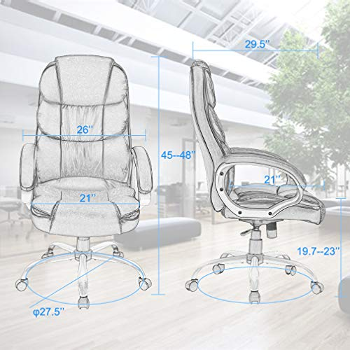 Office-Chair-Desk-Ergonomic-Swivel-Executive-Adjustable-Task-Computer-High-Back-Chair-with-Back-Support