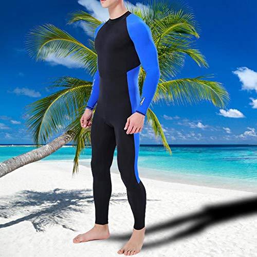 SALUTUYA Equipo de Buceo Trajes completos de Buceo Mantiene el Calor y la protección Solar, para esnórquel, para Deportes acuáticos(XL)