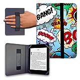 Funda para Libro electrónico eReader eBook de 6 Pulgadas - Woxter, Tagus, BQ, Energy, SPC, Sony, Inves, Papyre, Wolder, Nolim - 6' Universal - elástico (34)