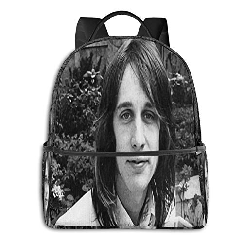 Lsjuee Todd Rundgren University School Large Capacity Backpack Computer Bag Unisex Suitable for Hiking Various Outdoor Sports