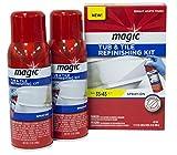 Magic Tub and Tile Refinishing Kit (Bright White) Spray on Aerosol -...
