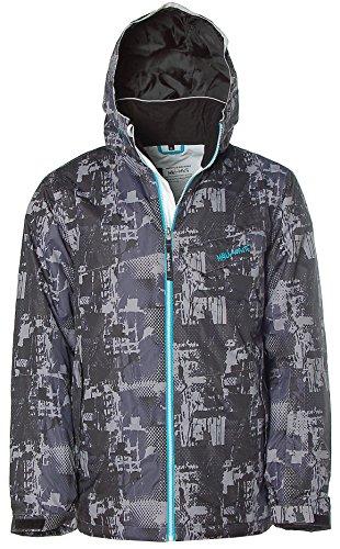 Maui Wowie Herren Schneejacke Snowboardjacke Snowboard Jacke Winterjacke Grau M