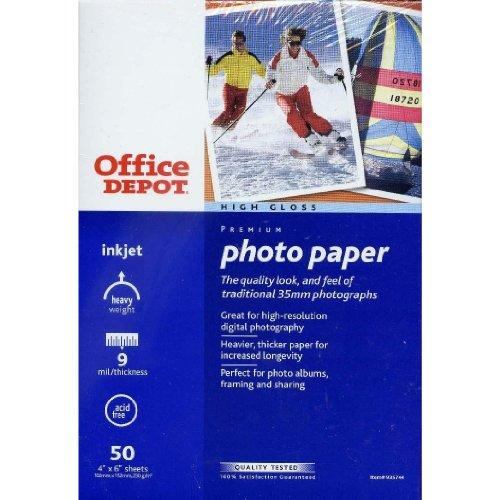 High Gloss Premium Photo Paper 50 - 4' X 6' Sheets