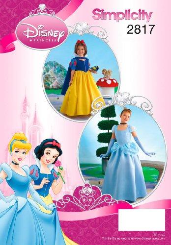 Simplicity 2817 - Patrones de Costura para Disfraces de niños (Tallas 3, 4, 5 y 6)