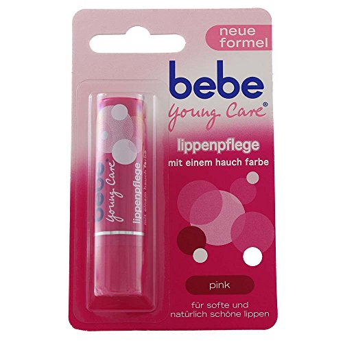 Bebe Young Care Lippenpflege Pink 4,9 g