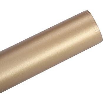 TECKWRAP Cromado de vinilo adhesivo de oro cromado 1ftx5ft: Amazon.es: Juguetes y juegos