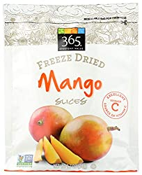 365 Everyday Value, Mango Slices, Freeze Dried, 1.2 oz