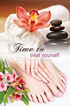 Global Printing Services Nail Salon Poster - Relaxing Spa Salon Poster || NSD-189 (32in x 48in, Mesh Vinyl (See Through))