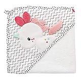 Fehn 057263 - Toalla con Capucha de Unicornio/Poncho de baño de algodón con Bonito Unicornio para bebés y niños pequeños a Partir de 0 Meses